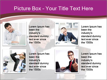 Angry business man PowerPoint Templates - Slide 14