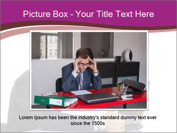 Angry business man PowerPoint Templates - Slide 15