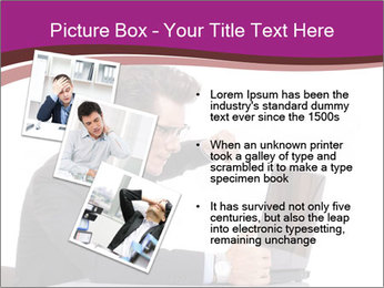 Angry business man PowerPoint Templates - Slide 17