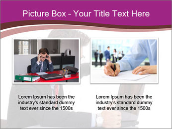 Angry business man PowerPoint Templates - Slide 18