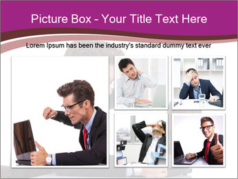 Angry business man PowerPoint Templates - Slide 19