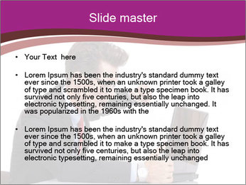 Angry business man PowerPoint Templates - Slide 2
