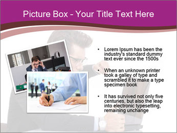 Angry business man PowerPoint Templates - Slide 20