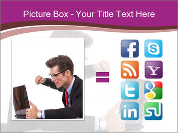 Angry business man PowerPoint Templates - Slide 21
