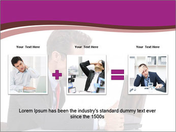 Angry business man PowerPoint Templates - Slide 22