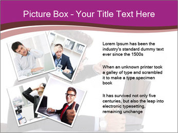 Angry business man PowerPoint Templates - Slide 23