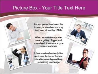 Angry business man PowerPoint Templates - Slide 24