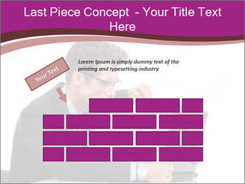 Angry business man PowerPoint Templates - Slide 46