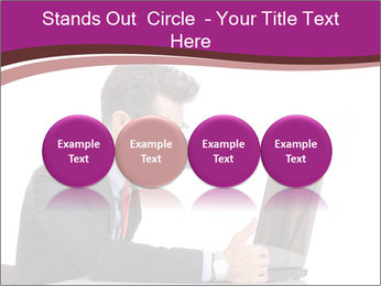 Angry business man PowerPoint Templates - Slide 76