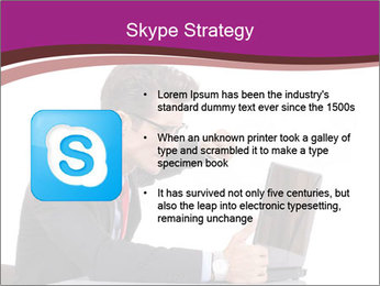 Angry business man PowerPoint Templates - Slide 8