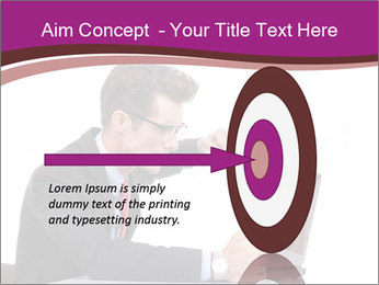 Angry business man PowerPoint Templates - Slide 83