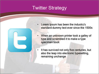 Angry business man PowerPoint Templates - Slide 9