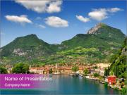 Italian lake PowerPoint Templates