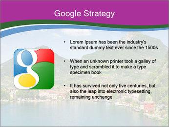 Italian lake PowerPoint Template - Slide 10