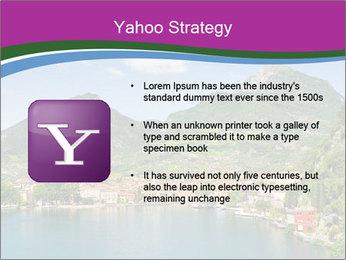 Italian lake PowerPoint Template - Slide 11