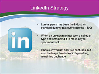 Italian lake PowerPoint Template - Slide 12