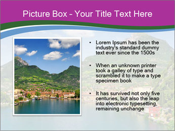 Italian lake PowerPoint Template - Slide 13