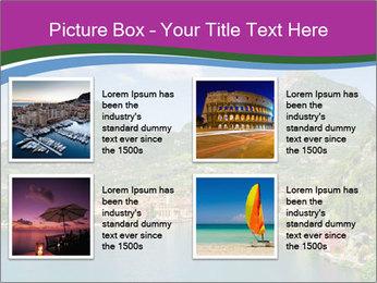 Italian lake PowerPoint Template - Slide 14