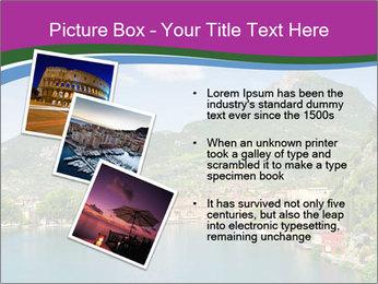 Italian lake PowerPoint Template - Slide 17