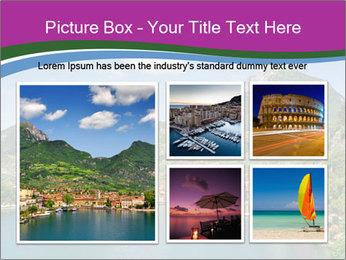Italian lake PowerPoint Template - Slide 19