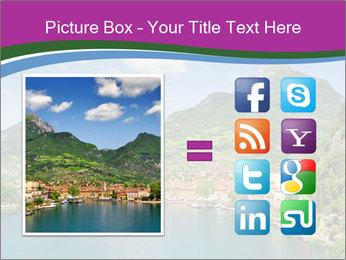 Italian lake PowerPoint Template - Slide 21