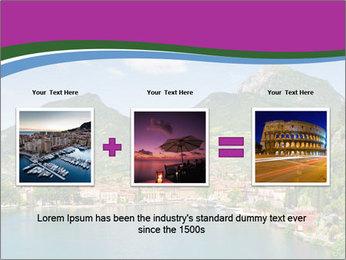 Italian lake PowerPoint Template - Slide 22