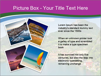 Italian lake PowerPoint Template - Slide 23