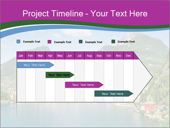 Italian lake PowerPoint Template - Slide 25