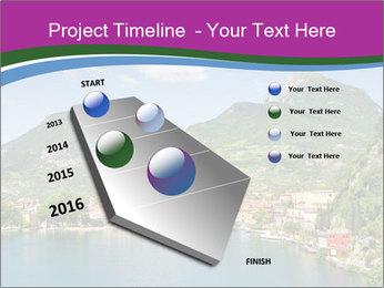 Italian lake PowerPoint Template - Slide 26