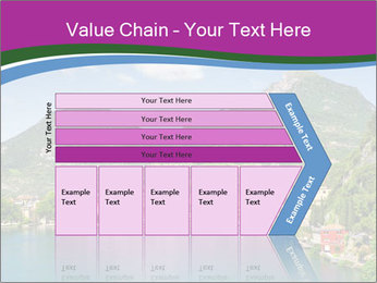 Italian lake PowerPoint Template - Slide 27