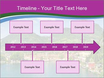 Italian lake PowerPoint Template - Slide 28