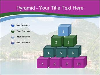 Italian lake PowerPoint Template - Slide 31
