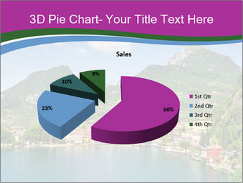 Italian lake PowerPoint Template - Slide 35