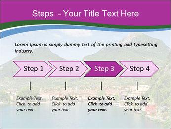 Italian lake PowerPoint Template - Slide 4
