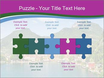 Italian lake PowerPoint Template - Slide 41