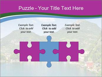 Italian lake PowerPoint Template - Slide 42