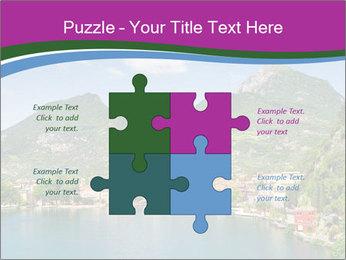Italian lake PowerPoint Template - Slide 43