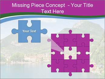 Italian lake PowerPoint Template - Slide 45