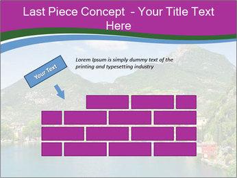 Italian lake PowerPoint Template - Slide 46