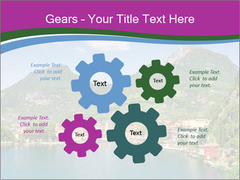 Italian lake PowerPoint Template - Slide 47