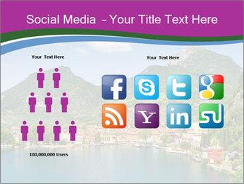 Italian lake PowerPoint Template - Slide 5