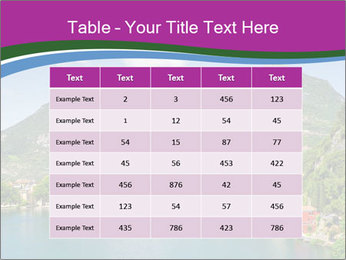 Italian lake PowerPoint Template - Slide 55