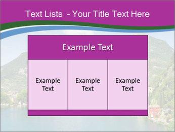 Italian lake PowerPoint Template - Slide 59