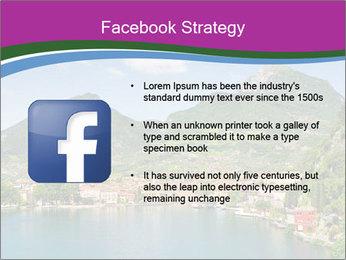 Italian lake PowerPoint Template - Slide 6
