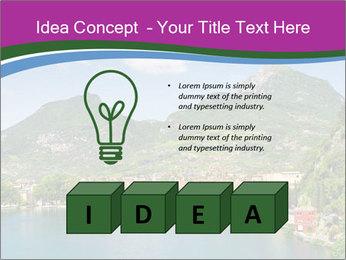 Italian lake PowerPoint Template - Slide 80
