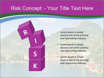 Italian lake PowerPoint Template - Slide 81