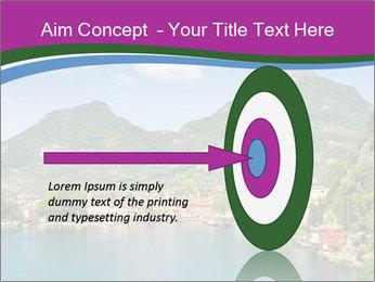 Italian lake PowerPoint Template - Slide 83
