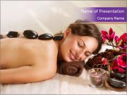 Spa Stone PowerPoint Templates
