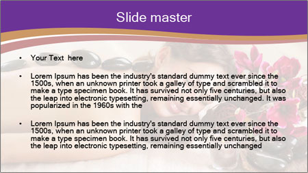 Spa Stone PowerPoint Template - Slide 2