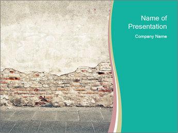 Ыtreet wall PowerPoint Template - Slide 1